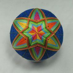 Temari Patterns, All Japanese, Hand Art, String Art, Fiber Art, Folk Art, Oriental, Crochet, Diy Crafts