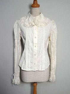 Rose lace blouse [R175M04]