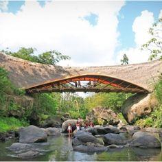 Ibuku Architecture. Beautiful and amazing bamboo structures.
