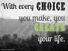 Choose to create