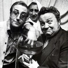 Peter Sellers, Spike Milligan and Harry Secombe. (The Goon Show) Photo Stock Images, Stock Photos, British Comedy, English Comedy, British Humour, Spike Milligan, British People, British Men, The White Album