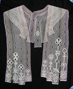 Šála - fotoalba ulivatelu - D? Lace Heart, Lace Jewelry, Lace Making, Bobbin Lace, Lace Detail, Knitting Patterns, Collection, Type, Fashion