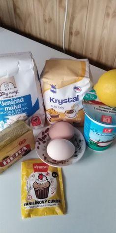 Výborné krémové rezy (fotorecept) - recept | Varecha.sk Eggs, Breakfast, Food, Morning Coffee, Essen, Egg, Meals, Yemek, Egg As Food