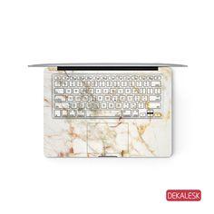 Orange Marble - MacBook Keyboard Skin