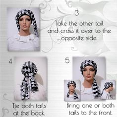 How to tie the Cap-n-Wrap Scarf - Modest Anytime Plum Purple, Purple Roses, Pink, White Cherry Blossom, Head Scarf Styles, White Cherries, Brown Floral, Head Wraps, Swirls