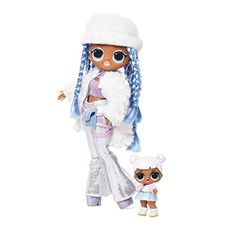 Buy LOL Surprise OMG Winter Disco Snowlicious Doll & Sister at Argos. Thousands of products for same day delivery or fast store collection. Moda Disco, Peluche Peppa Pig, Estilo Swag, Chibi Kawaii, Girl Hair Colors, Disco Fashion, Angel Dress, Garment Bags, Snow Angels