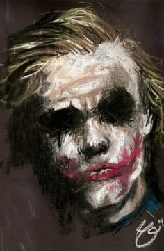 """""""Why are you so serious?"""" The movie Dark Night is my favorite movie. I liked Joker rather than Batman. When Joker said """"Why are you so serious"""" I felt this movie is going to be famous. Joker Batman, Joker Art, Gotham Batman, Batman Art, Batman Drawing, Superman Logo, Batman Robin, Comic Books Art, Comic Art"""