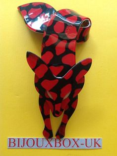 LEA STEIN FOX BROOCH #LEASTEIN