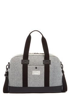 I've got this bag and I get a lot of compliments on it. Love the reversed denim. Hex laptop duffel