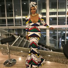 The new Ndebele attire African Fashion Ankara, African Print Fashion, African Style, African Attire, African Dress, African Outfits, Wedding Prep, Wedding Ideas, Dress Attire