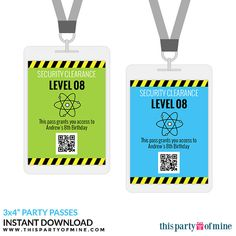 Science Party VIP Passes All Access Party by thispartyofmine