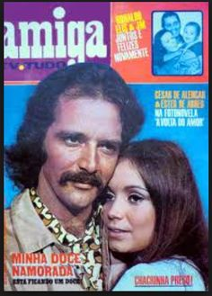 revista amiga-minha doce namorada-NA FOTO CLAUDIO MARZO COM REGINA DUARTE-1971