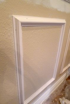 wall moulding for dining room