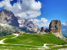 Cinque Torri, in Italy's Dolomite mountains is a great place to hike