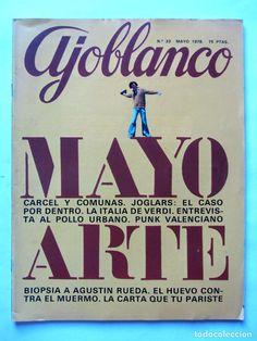 Coleccionismo de Revistas y Periódicos: AJOBLANCO LOTE DE 28 REVISTAS (1975/1977/1978+ NUEVA ÉPOCA (1988/1992)VER FOTOS Y DESCRIPCIÓN - Foto 13 - 67251977