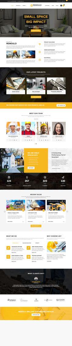 Remould | Construction & Building WordPress Theme