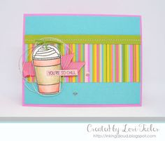 You're So Chill card-designed by Lori Tecler/Inking Aloud-stamps and dies from Lil' Inker Designs