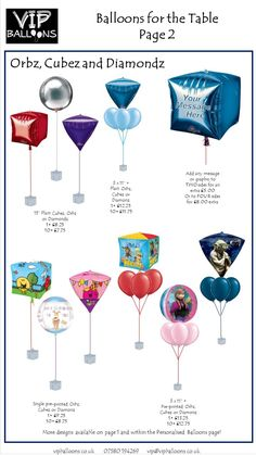 Our prices can all be found here on our website, however we offer a free consultation service where we can prepare a quote for your needs. Yellow Balloons, Bubble Balloons, Printed Balloons, Foil Balloons, Personalized Balloons, Custom Balloons, Balloon Bouquet, Balloon Arch, Wedding Balloons