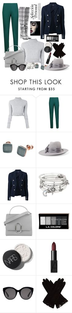 """""""Untitled #971"""" by pesanjsp ❤ liked on Polyvore featuring Faith Connexion, Antonio Berardi, Skagen, Eugenia Kim, Theory, Alex and Ani, 3.1 Phillip Lim, Gucci, AGNELLE and Off-White"""