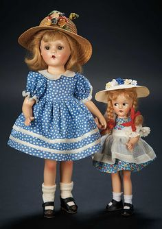 Love, Shirley Temple, Collector's Book: Lot # 471: Two American Composition Dolls by Madame Alexander from the Shirley Temple Collection