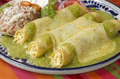 Receta de la tradicional enchilada suiza mexicana  #Enchilada #EnchiladaSuiza #EnchiladaMexicana #RecetasMexicana #RecetasFacile #RecetasEnchiladas