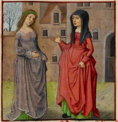 Early 16th century dress. Ask the Past: How to Dress (Teen Girl Edition), c. 1500