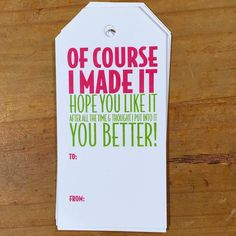 "I found the perfect gift tags today. ""You better!"" Meg @annieandco_needlepoint by mccallpatterncompany"