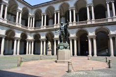 PLACES TO VISIT IN MILAN DURING ISALONI 2017. Pinacoteca di Brera, Italian Design, I Salone 2017. #italy, #italiandecor, #isalone Read the full article: https://www.brabbu.com/en/news-events/brabbu-news/places-visit-milan-during-isaloni-2017