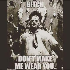 The Texas Chainsaw massacre Texas Chainsaw Massacre, Slasher Movies, Horror Movie Characters, Horror Icons, Horror Films, Netflix Horror, Creepypasta, Funny Horror, Nerd