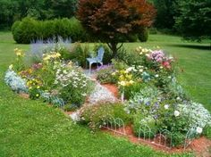 Flower Garden Design Plans amazing of flower garden layout planner 16 free garden plans garden design ideas Find This Pin And More On Dream Gardens And Landscape Images Of House Designs Flower Garden Design Ideas