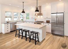 LVP - Natural Elm Wide+ Click Flooring - Cali Bamboo