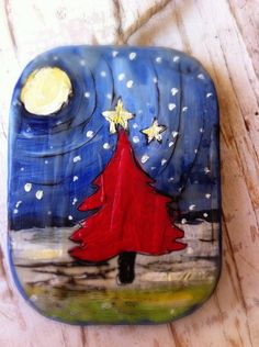 Christmas Tree Christmas Ornament Free Shipping by evesjulia12, $22.00