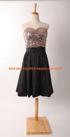 Black Kurze  Luxuriöse Abendkleider Chiffon