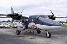 Perris Valley Skydiving De Havilland Canada DHC-6-100 Twin Otter N125SA (jbp274) Tags: skydiving shark airport painted airplanes twinotter perris dehavillandcanada dhc6 perrisvalley l65
