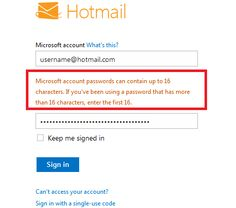 Microsoft Limits Password Lengths To 16 Characters - Microsoft recently rolled out Outlook, the same email service as Hotmail but with an all new design in consistence with the Metro looks from Windows 8. If you try to sign up for Outlook, you can't set a password which is longer than 16 characters. While that remains the case with new accounts, Microsoft is expanding the limitation to existing accounts too. [Click on Image Or Source on Top to See Full News]