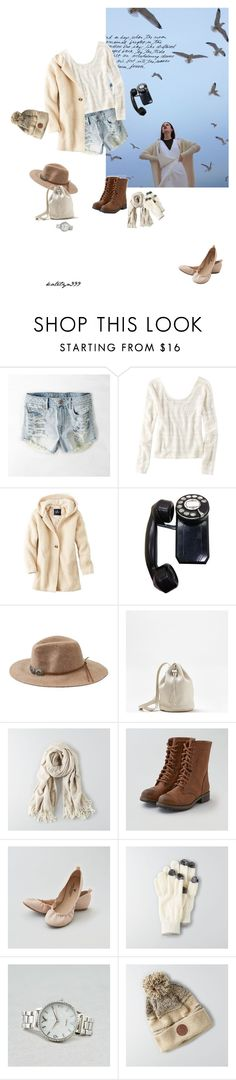 """""""Waiting for love..."""" by katelyn999 ❤ liked on Polyvore featuring Rika and American Eagle Outfitters"""