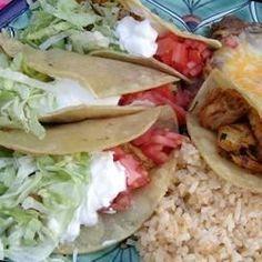 Chicken Tacos - Allrecipes.com