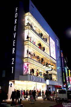 Woah!!! Forever 21 store Japan..
