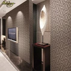 Free shippin Modern Brief Style Plaid Wallpaper Chinese Tv Background of Wall paper papel de parede,Wallpaper rolo 3d Floor Painting, Wallpaper Stickers, Vinyl Wallpaper, Painted Floors, Wallpaper Accent Wall Bathroom, Geometric Wallpaper Living Room, Wallpaper Walls Bedroom, Floor Wallpaper, Mural Wallpaper