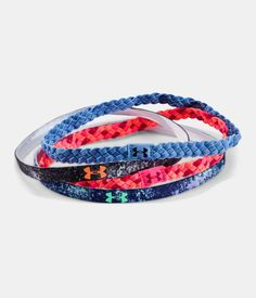 Women's Under Armour Braided Headband. The perfect stocking stuffer for the runner in your life. They work hard to keep hair in place so you can focus on what matters-- the miles ahead.