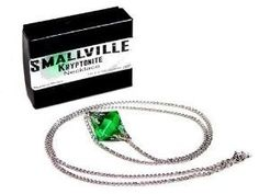 Kryptonite necklace from Smallville!