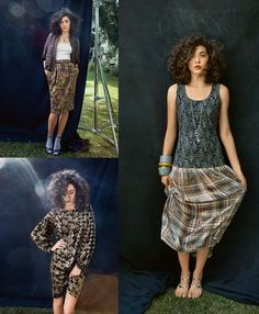 Read the article 'Pretty Grunge: 8 Nineties Inspired Patterns' in the BurdaStyle blog 'Daily Thread'.
