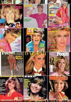 Olivia magazine covers