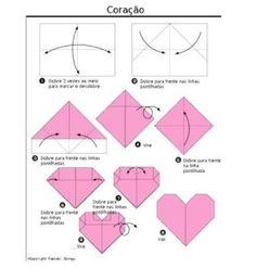 Zakka Life Craft Origami Heart Valentines