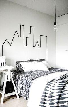decorar+parede+com+fita+isolante12.jpg (690×1081)