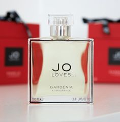 "Jo Loves Gardenia ""Gardenia is rich and regal. This fragrance walks into a room and stands out in the crowd. You can instantly feel the creaminess of the petal and the distinctive floral note which evokes memories of beautiful Hawaiian summer days as well as hints of a winter evening. Gardenia is so identifiable and distinguished in character and I wear it when I want to feel a sense of confidence and pride."""