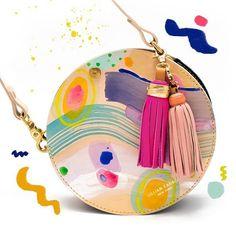 Lillian Farag Cloud Wash Circle Bag