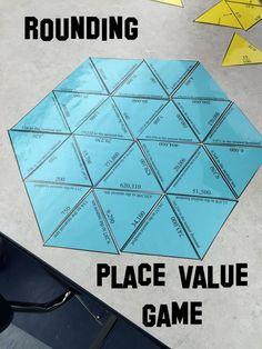 This math station contains 30 problems in a self checking puzzle for rounding to the nearest ten, hundred, thousand, ten thousand, or hundred thousand. Students could use this activity during guided math or you could use it as an activity for quick finish Math Resources, Math Activities, Math Games, Rounding Games, Rounding Numbers, Place Value Activities, Math Round, Fifth Grade Math, Fourth Grade