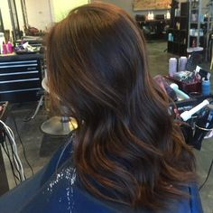 45 Looks That Prove Balayage Hairstyle Are for You - Brit + Co Balayage Hair Brunette Long, Balayage Hair Caramel, Hair Color Balayage, Balayage Hairstyle, Gray Balayage, Blonde Hair, Hair Lights, Dark To Light Hair, Hair Color Dark
