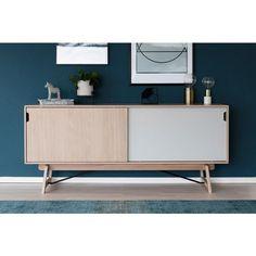 Product thumbnail Mid Century Sideboard, Oak Sideboard, Credenza, Side Board, 60 Kg, Wood Drawers, Komodo, Nordic Design, Midcentury Modern